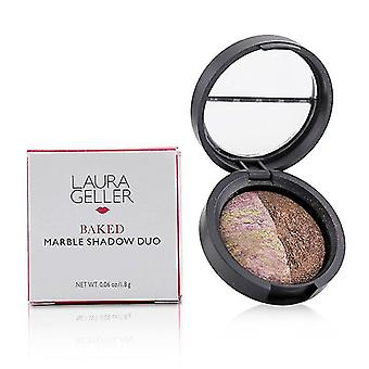 Baked Marble Eyeshadow Duo - Pink Icing/Devil's Food
