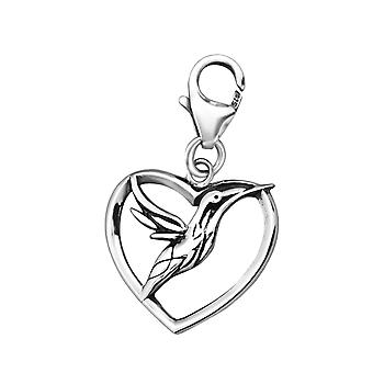 Bird - 925 Sterling Silver Charms with Lobster - W24585X