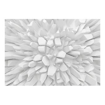 Artgeist Wallpaper White dahlia (Decoration , Wall murals , Wall murals standard)