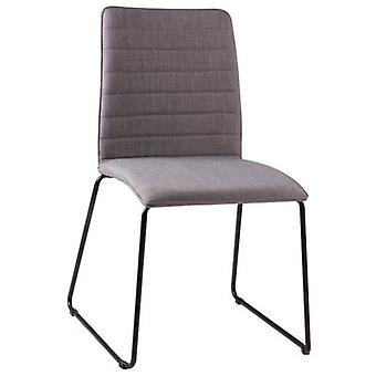 Wellindal Upholstered Chair Vera Metal (Furniture , Chairs , Chairs)
