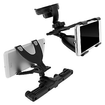 Universal Car Tablet Mount Holder (7 to 11 inches) - Headrest / Windshield