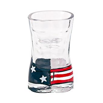 Usa Mens Board Shorts Shot Glass (en anglais)