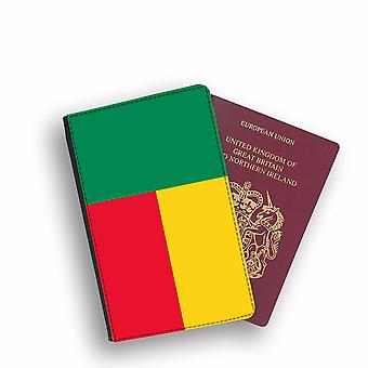 BENIN Flag Passport Holder Style Case Cover Protective Wallet Flags design