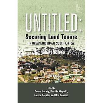 Sans titre - Sécurisation foncière en milieu urbain et rural Afrique du Sud par Don