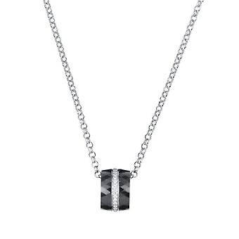 Ceranity-ketting-zirkonium oxide-Zilver Sterling 925