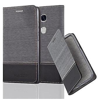 Cadorabo kotelo Huawei Honor 5X / Play 5X / Huawei GR5 tapauksessa kattaa - puhelimen tapauksessa magneettilukko, seistä toiminto ja korttiosasto - Case Cover suojakotelo tapauksessa kirja taitto tyyli