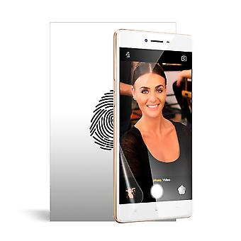 Celicious Vivid Plus Mild Anti-Glare Screen Protector Film Compatible with OPPO F1 [Pack of 2]