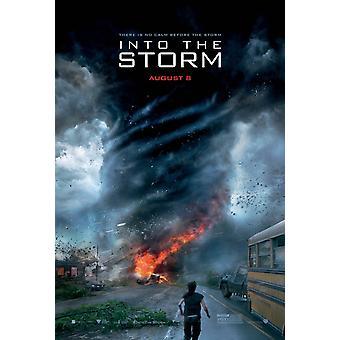 In den Sturm Original Filmplakat - doppelseitige Vorschuss