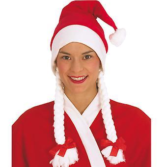Nikolausin Santa Hat Santa Claus Xmas warkocze