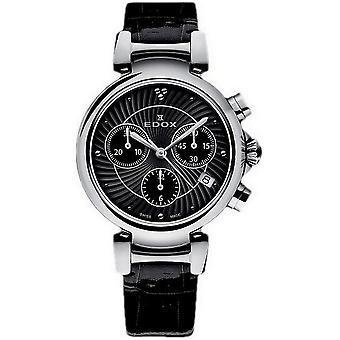 Edox Women's Watch 10220 3C NIN Chronographs