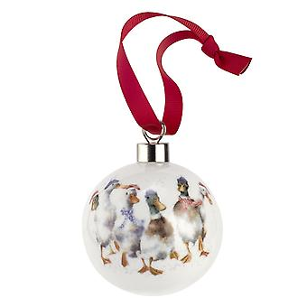 Wrendale Designs All Wrapped Up Bauble