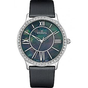 Delbana - Wristwatch - Ladies - Dress Collection - 41611.591.1.536 - Paris