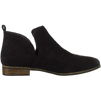 Dr. Scholl's Shoes Womens Rate Leather Almond Toe Ankle Fashion Boots