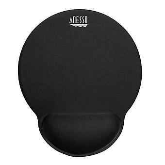 Mouse pad with wrist rest memory foam