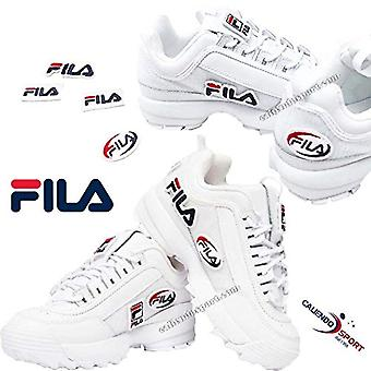 Fila Woman Sneakers Disruptor ii Patches 5fm00538 41 White