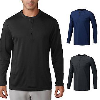 Adidas Golf Herre no-show Range Henley sweater