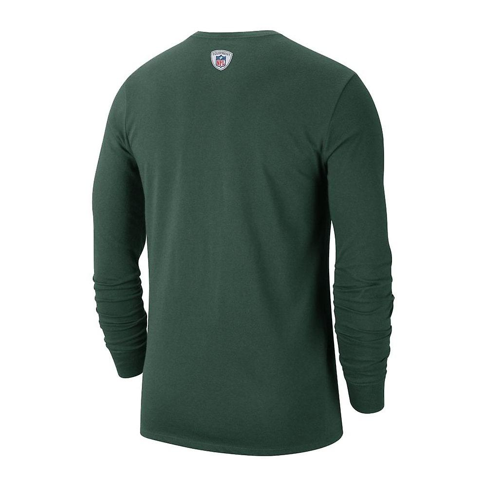 Nike Nfl Green Bay Packers Sideline Property Of Performance Long Sleeve T-shirt