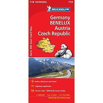 Germany Benelux Austria Czech Republic  Michelin Nationa by Michelin