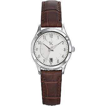 Trendy Kiss TC10057-01 - watch leather white woman