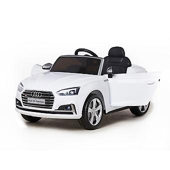 Children's electric car Audi S5 convertible metallic HL258 EVA tire leather seat, LED light