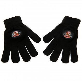 Sunderland Knitted Gloves Junior