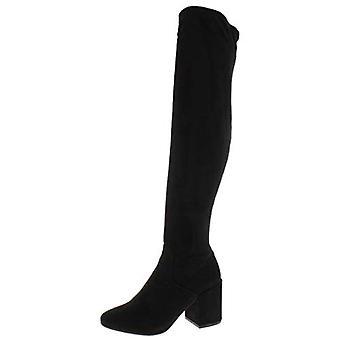 Bar III femei GABRIE Suede inchis Toe genunchi High Fashion cizme