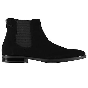 Aldo Mens Adaliwen Chelsea Boots Gents Zip Up Elasticated Padded Smart Shoes