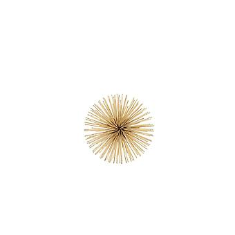 Light & Living Wall Ornament 14.5x6cm Echin Gold