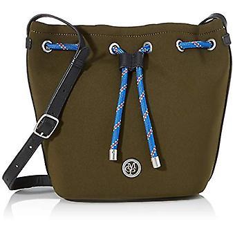 Marc O'Polo 90818321101601 Women's Green shoulder bag (green (olive 415)) 17.5x26x27 cm (B x H x T)