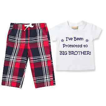 I'Ve ylennettiin Big Brother Tartan Housut Pyjamat