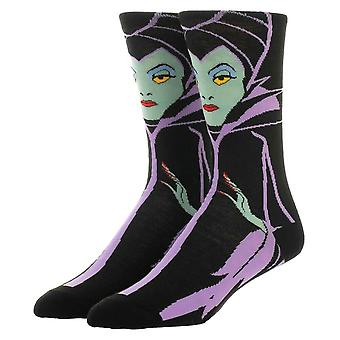 Disney Maleficent Character Crew Socks