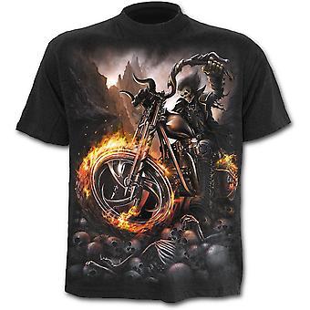Spiraral Wheels Of Fire T-shirt