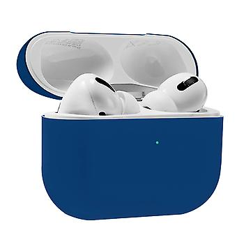 AirPods Pro Silicone Case Soft-touch Matt Effect Wireless Charging- Night Blue