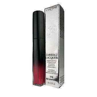 L'absolu lacquer longwear lip color by lancome 0.27 oz color #378 be unique