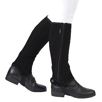 Dublin Unisex Easy Care Half Chaps II Winter Press Stud Befestigungsschuhe