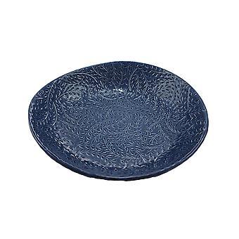 Schüssel etruskische Platte blau Keramik