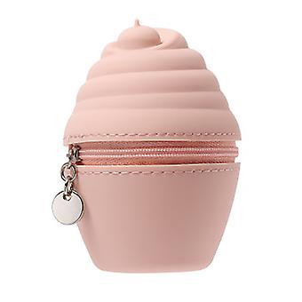 ピンクのアイスクリーム財布