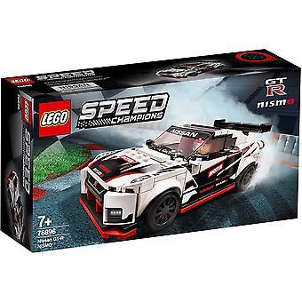 Lego 76896 Lego Speed Champions Nissan Gt-R Nismo Bau Spielset