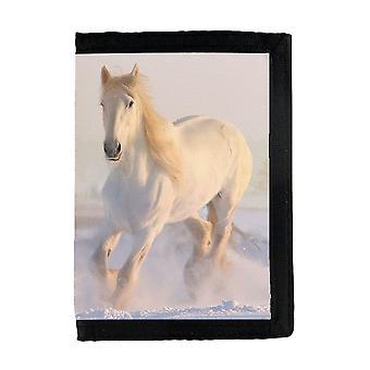 Hvit hest lommebok