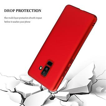 Cadorabo case for Samsung Galaxy A6 PLUS 2018 case cover - Hardcase plastic phone case against scratches and bumps - Protective Case Bumper Ultra Slim Back Case Hard Cover