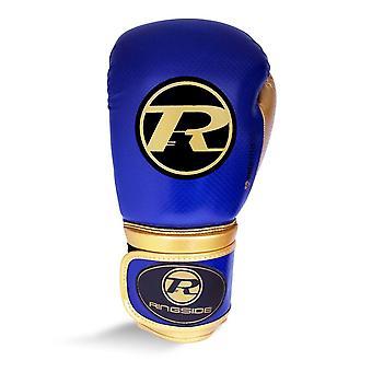 Ringside Pro Fitness Guantes de Boxeo Royal Blue/Negro/Oro