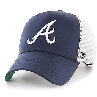 47 brand Snapback Cap - BRANSON Atlanta Braves navy