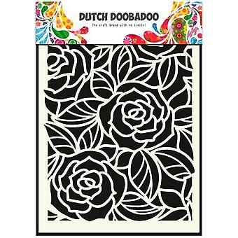 Голландский Doobadoo большой розы A5 трафарет маска 470.715.023