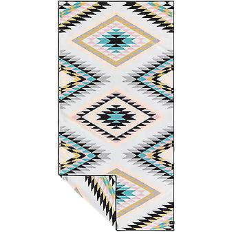 Slowtide Black Hills Travel Beach Towel in Off White