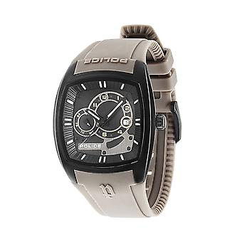 Police PL.93542AEU/02A Men's Black Dial Multi-Function Watch - Grey
