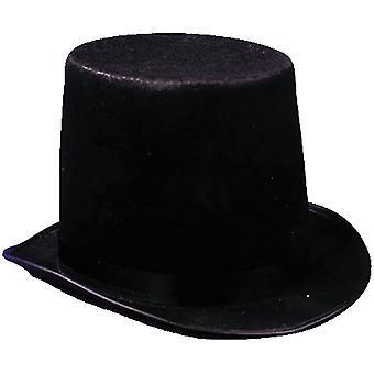 Stovepipe chapéu preto de economia para todos
