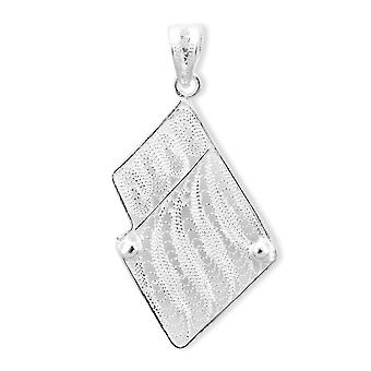 Royal Bali Scrollwork Pendant Handmade Artisan Crafted Sterling Silver for Women
