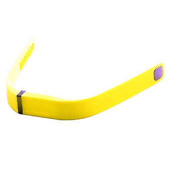 Wristband Bracelet Band Strap for Fitbit Flex Activity Tracker[Small,Yellow] BUY 2 GET 1 FREE