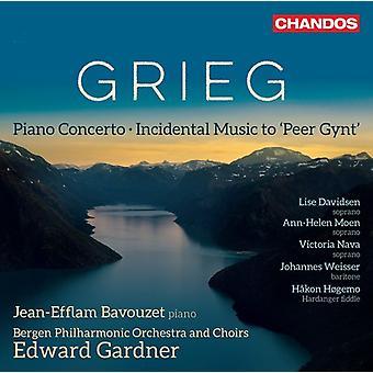 Grieg / Bavouzet / Gardner - Piano Concerto [SACD] USA import