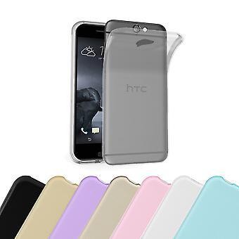Cadorabo Caja para HTC ONE A9 Funda de la funda - Funda del teléfono móvil hecha de silicona flexible TPU - Funda de protección de silicona Ultra Slim Soft Back Cover Parachoques parachoques